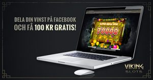 100 kr gratis på Viking slots