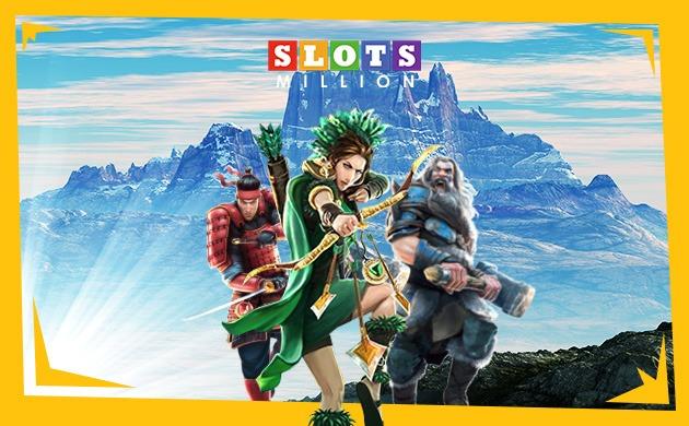 Slotsmillion VR spel