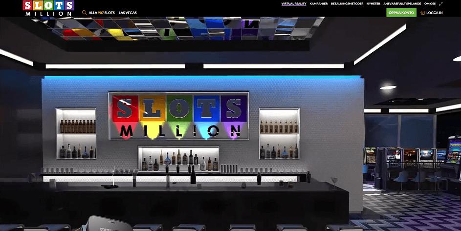 SlotsMillion virtuellt casino