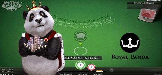 Spela Blackjack hos Royal Panda och vinn 2100 kronor