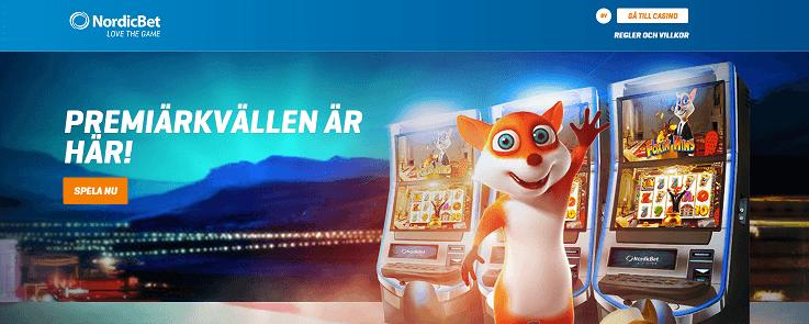 Dazzle Me slot hos NordicBet