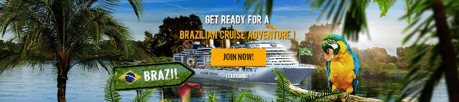 Vinn kryssning till Brasilien med CasinoCruise