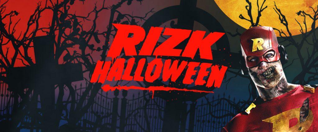 Rizk halloween vinster bonus och fria snurr