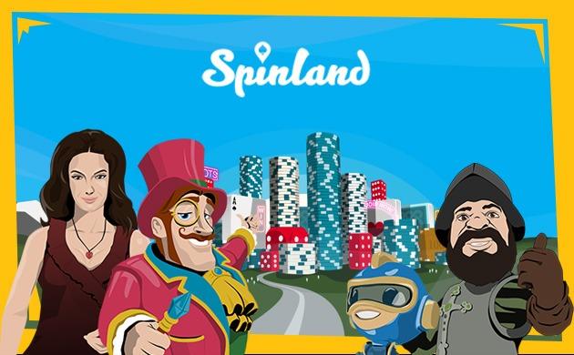 Spinland banner