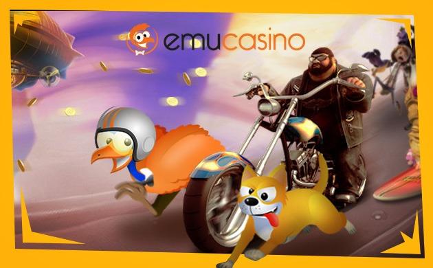 Få bonus hos det Australiensk casinot EmuCasino
