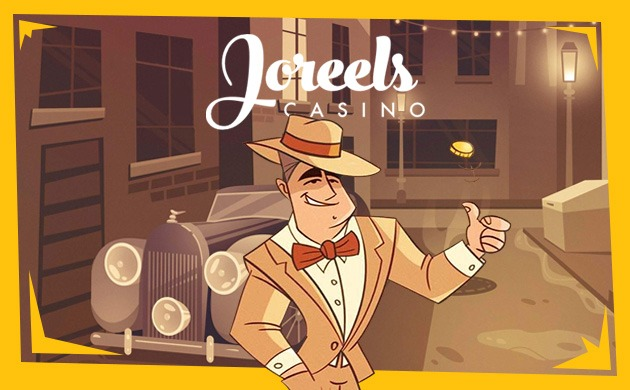 Joreels casino banner