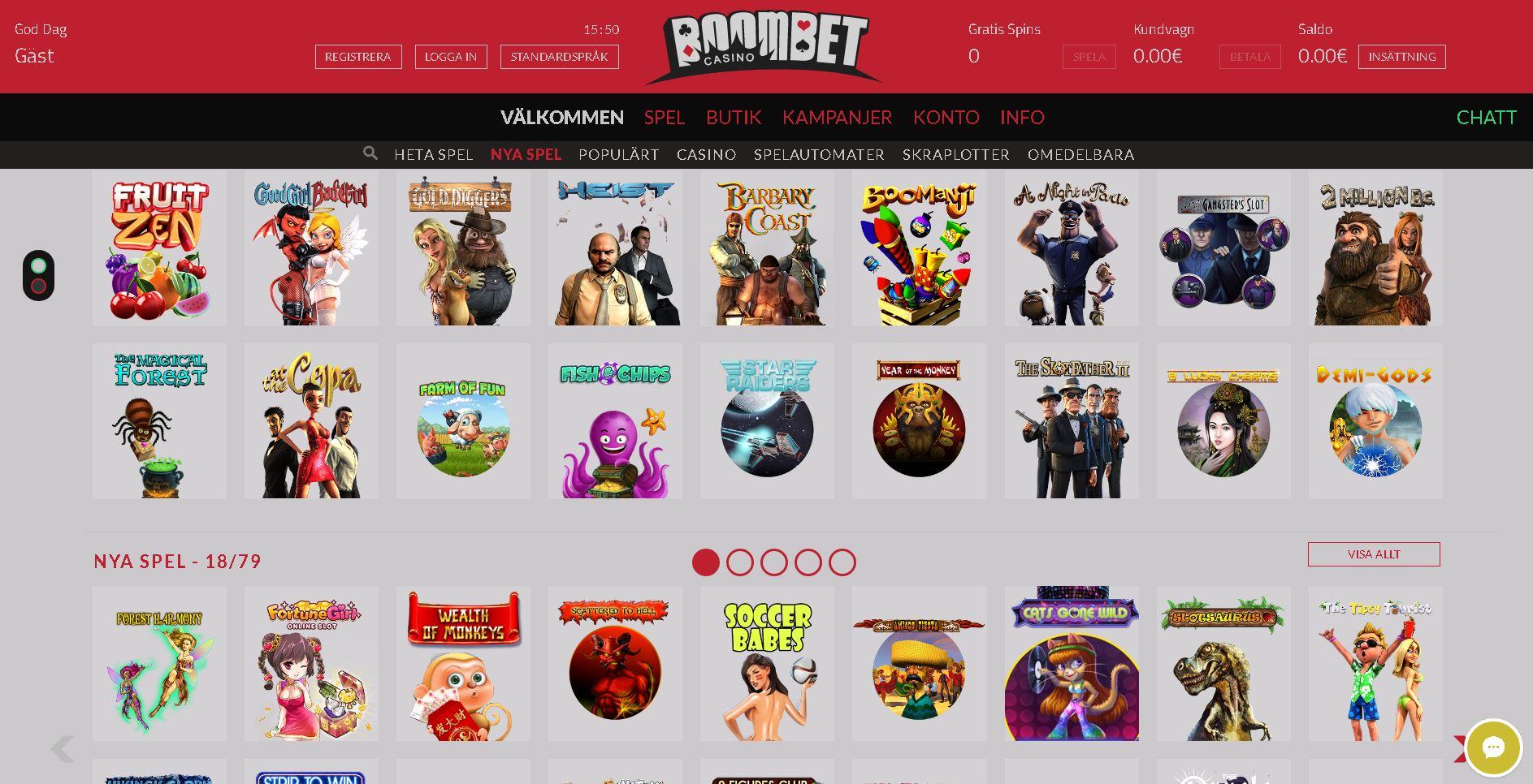 BoomBet slots