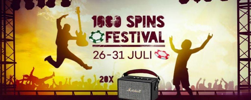 Shadowbet Casino, 1000 spins festival kampanj