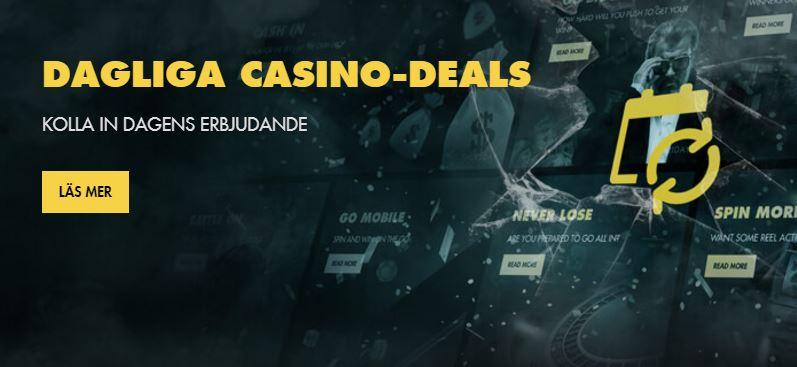 Dagliga casinodeals hos Bethard Casino