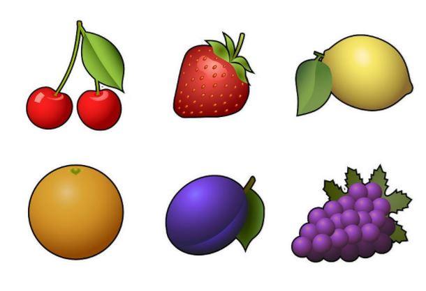 Fruktsymboler slots