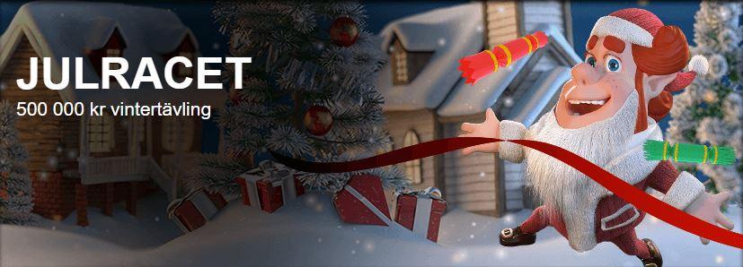 Stor prispott tävlas ut i SverigeKronans julrace