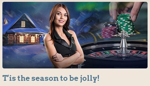 Få julbonus på live casino hos Leovegas