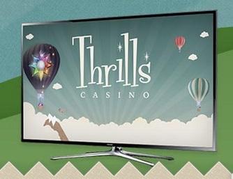 Thrills tävla om en TV