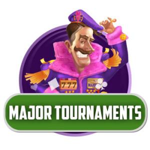 Casinoturneringar hos Major Tom