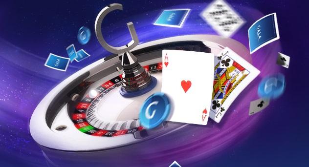 Gala casino utlottning på bordsspel